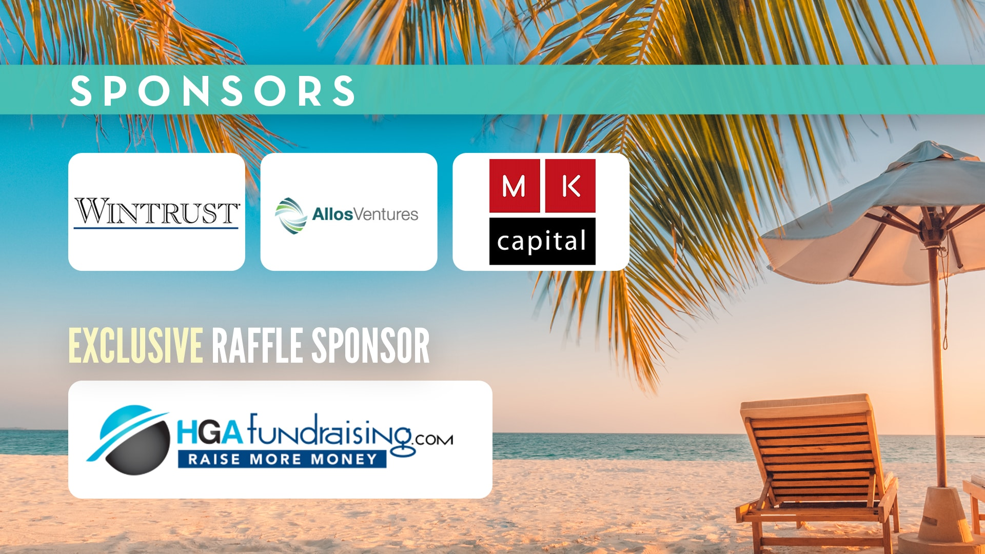 OneCause Virtual Event Sponsors