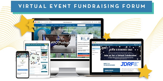 Virtual Event Fundraising Forum