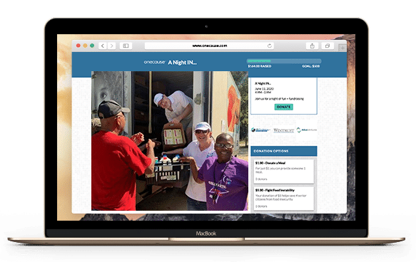 Stream nonprofit fundraising events and tell your organizations story