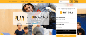 Play it Forward Campaign Results