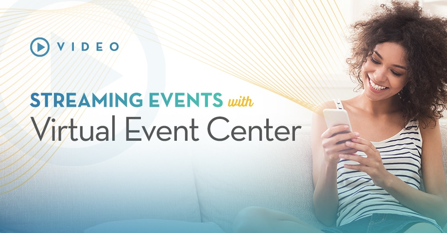 Streaming Events - Virtual Event Center Video
