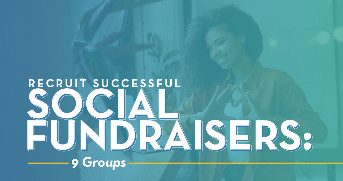 Explore different types of social fundraisers who can help propel your P2P campaign to success.