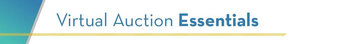 Virtual Auction Essentials