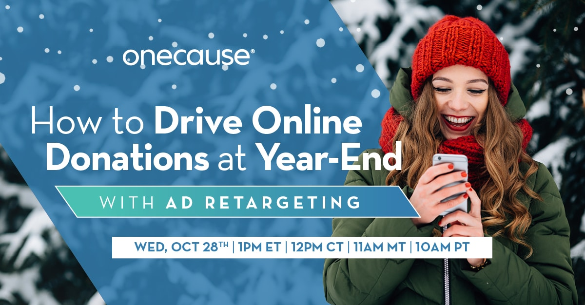 How to Drive Online Donations at Year-End With Ad Retargeting