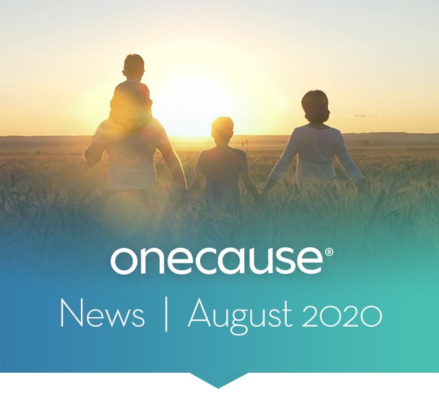 OneCause August Newsletter