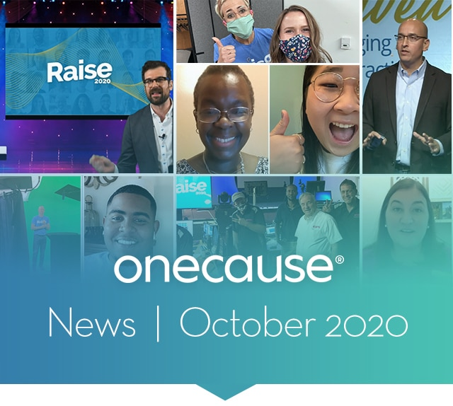 OneCause October News 2020