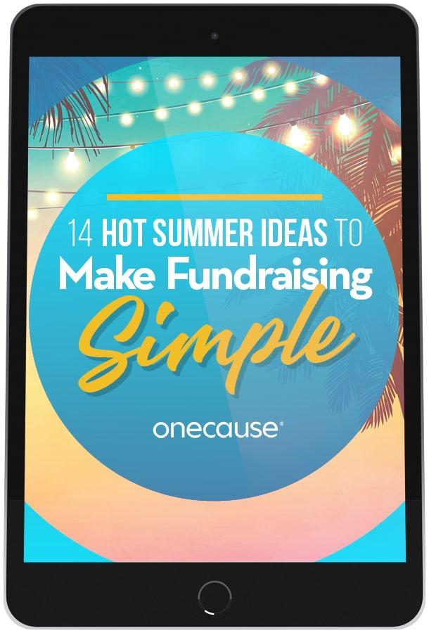 14 Hot Summer Fundraising Ideas-iPad