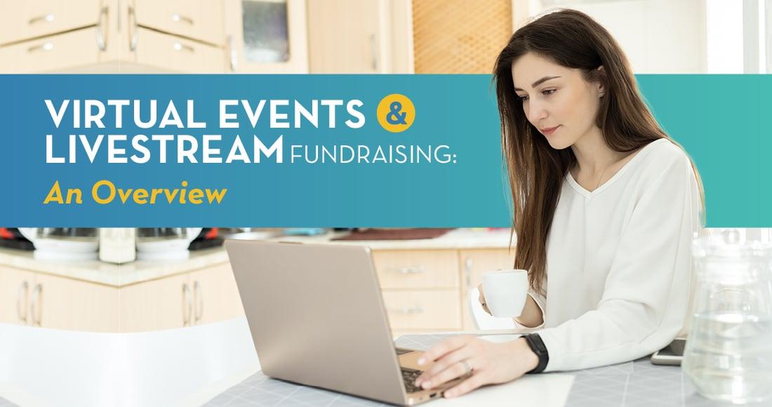Livestream fundraising is a brand new challenge for many nonprofits this year.