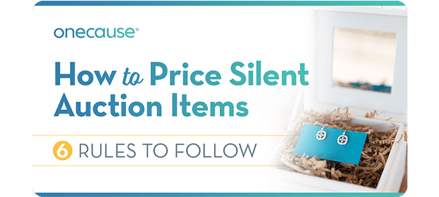 How to price Silent Auction Items