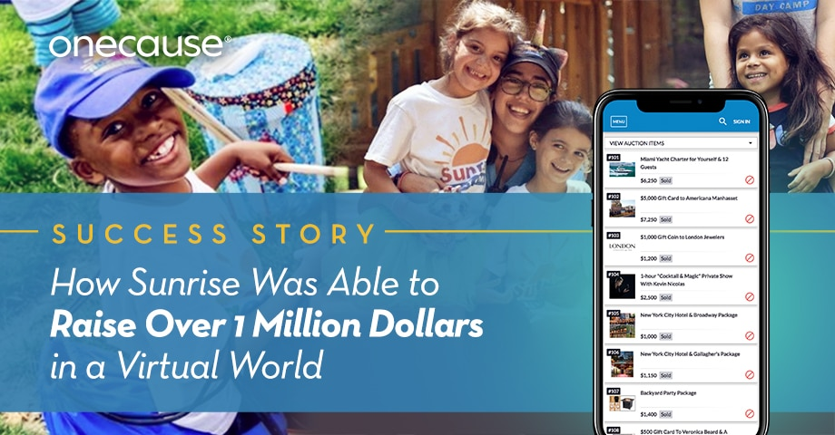 How Sunrise Was Able to Raise Over 1 Million Dollars in a Virtual World
