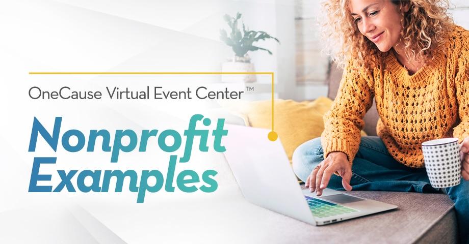 Virtual Event Center Nonprofit Examples
