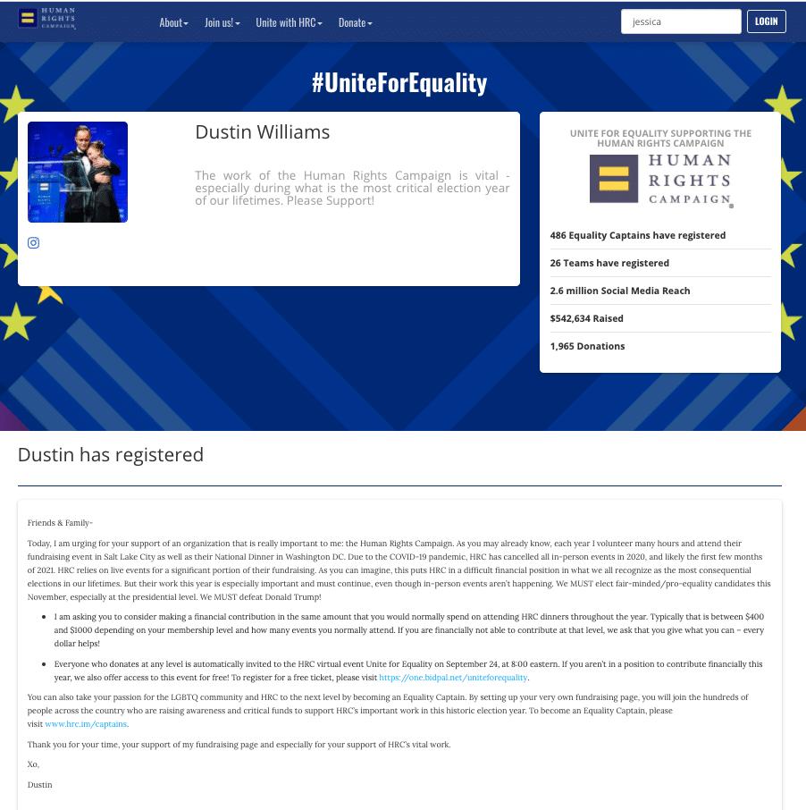 HRC-participant page story
