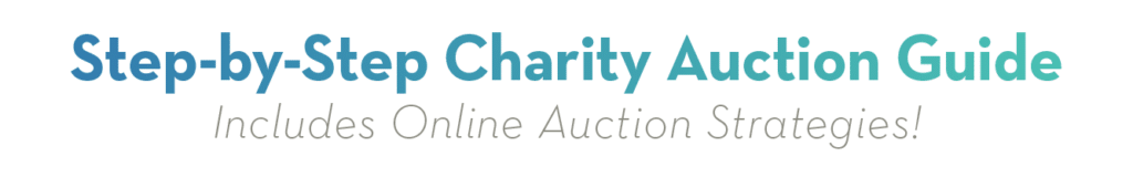 Charity Auction Guide