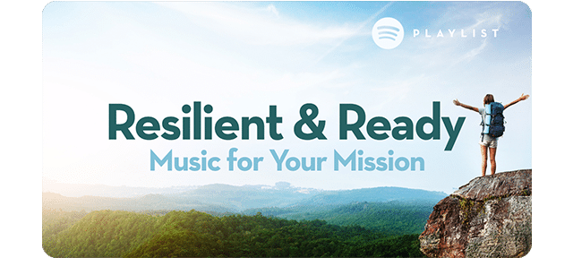 Resilient and Ready playlist
