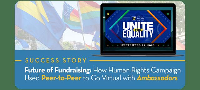 Success Story HRC Future of Fundraising