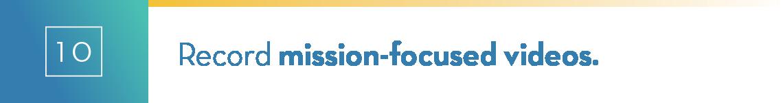 ecord-mission-focused-videos