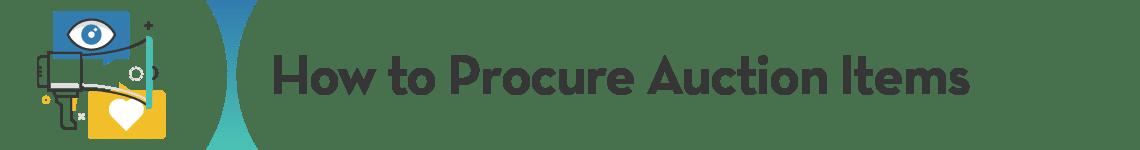Auction item procurement