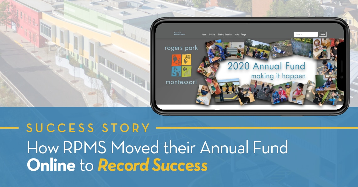 How RPMS Moved their Annual Fund Online to Record Success