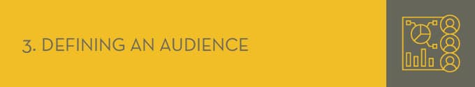 Define the audience for your nonprofit's awareness campaign.