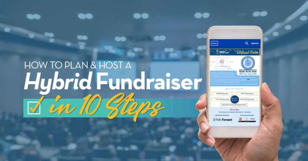How to Plan & Host a Hybrid Fundraiser in 10 Steps