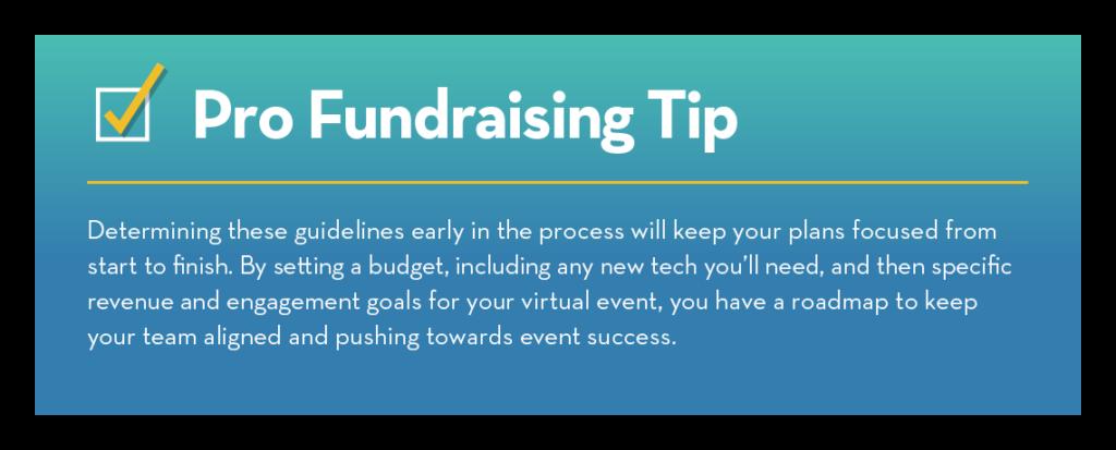 Pro Fundraising Tip