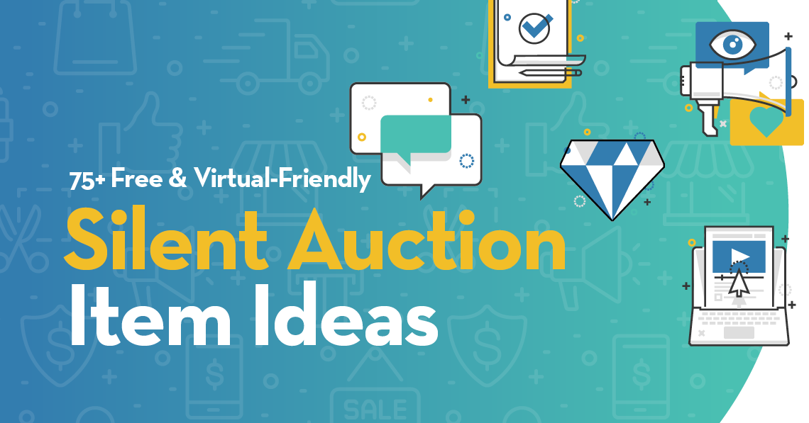 75 Free and Virtual-Friendly Silent Auction Item Ideas