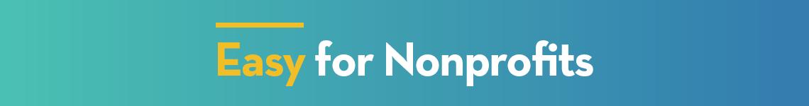 Easy for Nonprofits