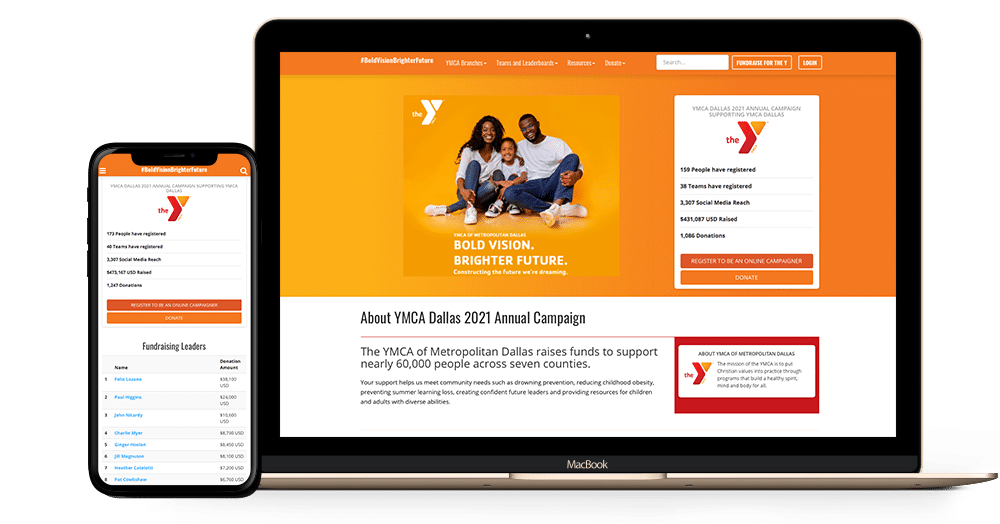 Product shot: ymca