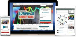 Peer-to-peer fundraising software should be fully customizable to match your campaign.