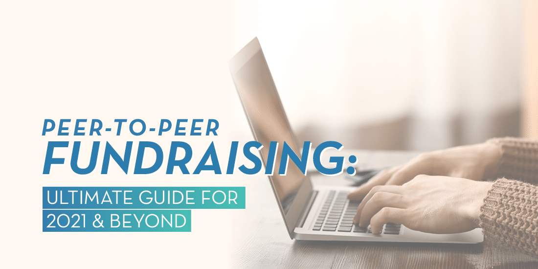 Peer-to-peer fundraising is a powerful way to connect with supporters and raise funds.