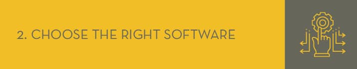 Choose the right software for your P2P campaign.