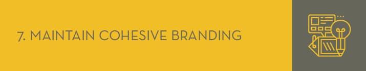 Maintaining cohesive branding is a top peer-to-peer fundraising best practice.