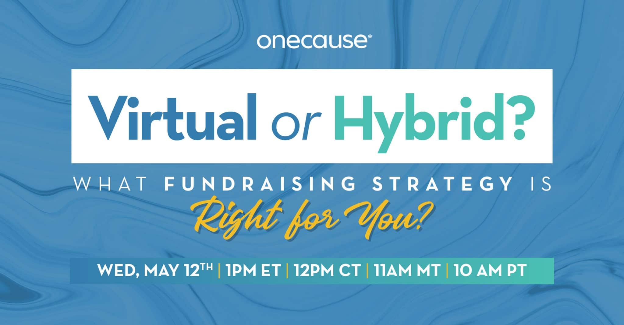 Virtual or Hybrid? webinar