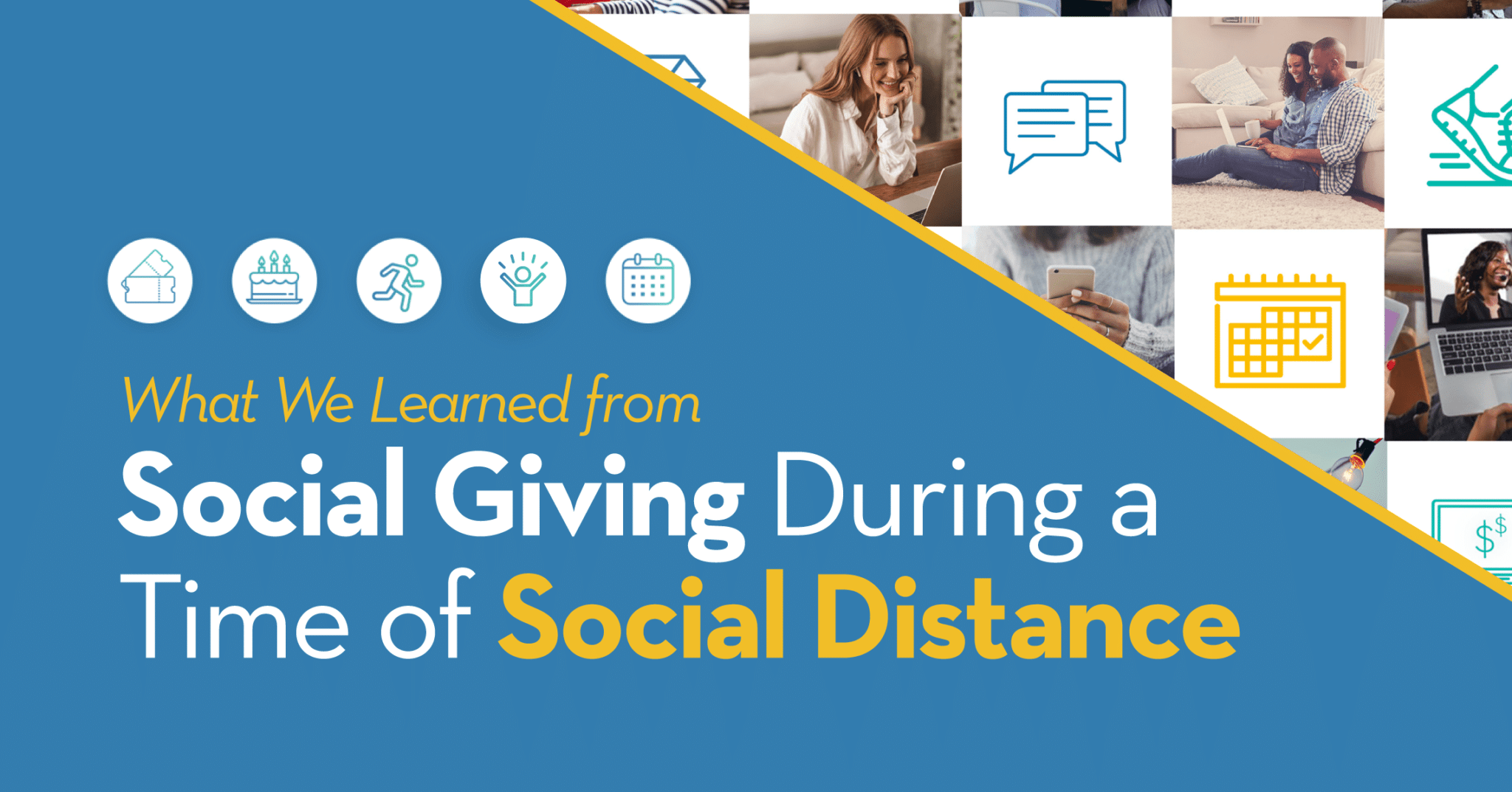 Social giving in a time of social distancing