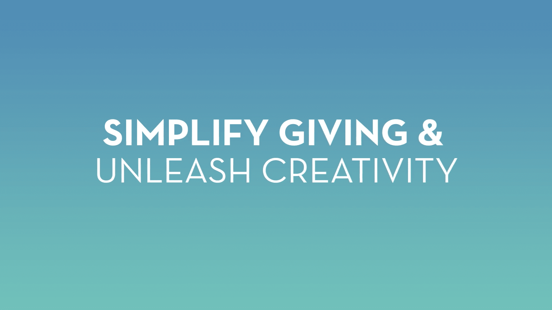 Simplify Giving