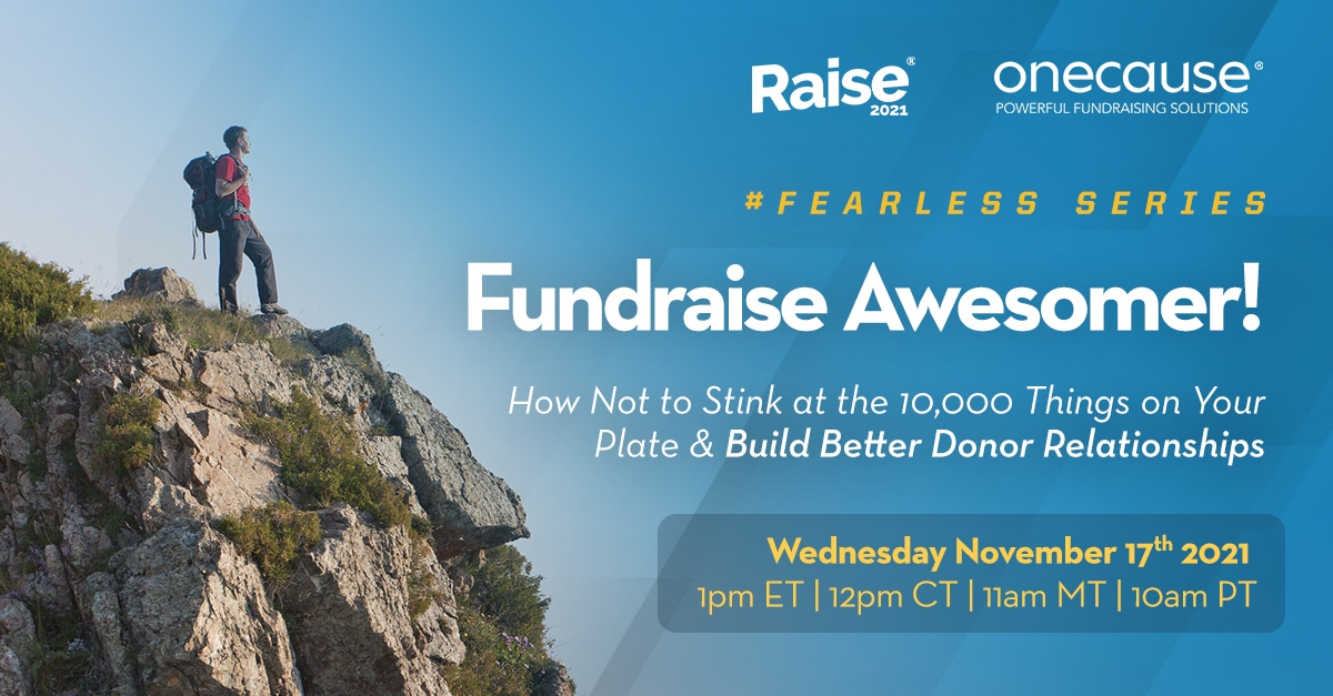 Fundraise Awesomer! Fearless Fundraiser Series